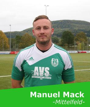 +++ Wieder auskuriert: Manuel Mack +++