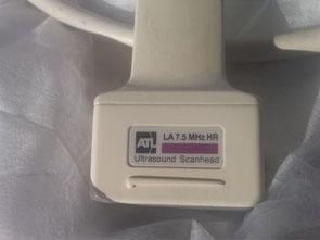 Ultraschallsonde ATL  LA7,5 MHz HR für Medizin und Praxis