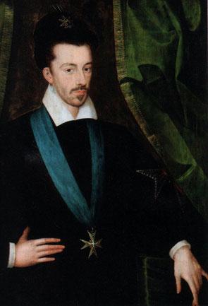 Portrait par Etienne Dumonstier, vers 1578