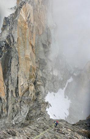 Aiguille d'Argentière, 2ieme Gardes, Jardingrat, arete du Jardin, Jardin ridge, Trient, Refuge d' Argentière, Mont Blanc