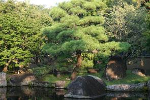 Himeji, Japon : jadin Koko-En