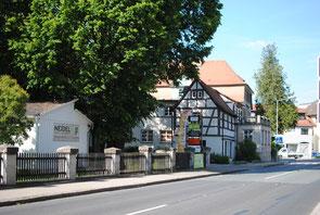 Bild vom Parkplatz der Hebammengemeinschaft Altdorf