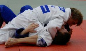 Stefan Freitag bei den BaWü Einzelmeisterschaften Judo