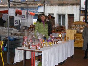 Marché du Fousseret Safran Saint-Gaudinois