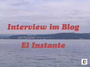 Interview im Blog El Instante