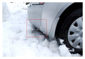 雪でマフラーが塞がれるとCO中毒の危険がある