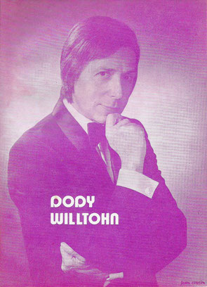 "Couverture programme ""Nuit de la magie"" Dody Willtohn - Collection Arh Toulouse"
