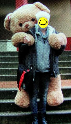 Ted und Besitzerin