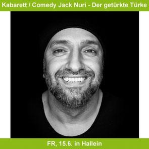 SalzSpiele Comedy Jack Nuri in Hallein