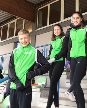 Talentiade mit Bravour abgeschlossen: Max, Magdalena und Nina