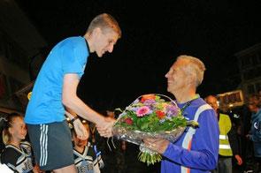 Siegerehrung 100 km Biel 2013.
