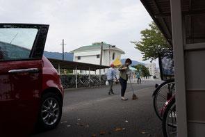 カッパの駅舎がシンボルのJR田主丸駅