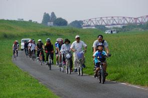 筑後川河川敷サイクリングロードを爽快に!
