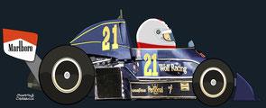 Hans Binder by Muneta & Cerracín - Williams FW05 - Ford Coswoeth
