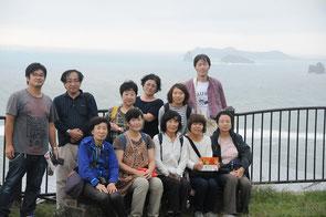 遠藤周作文学館の近くで