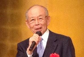 赤崎勇先生 著書『青い光に魅せられて』が2013年大川出版賞受賞。その受賞式にて