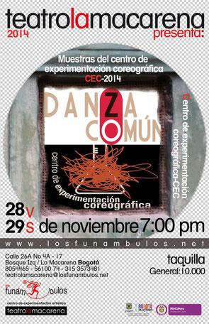 Danza comun en Los Funámbulos