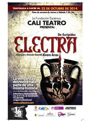"""Gran lanzamiento de la nueva producción teatral de Cali Teatro """"ELECTRA"""""""