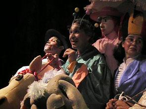 Octubre mes del teatro para niños en Cartagena
