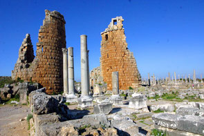 Perge hellenistisches Tor