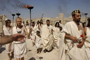 Laodicea Eröffnungsfeier der Syrien Straße