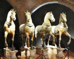 Pferde von San Marco aus der Hagia Sophia