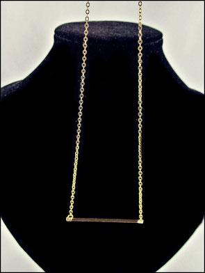 GKET-005 Kleines Stäbchen goldfarben