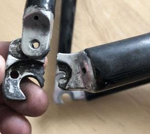 Schaltauge Ausfallende defekt Carbonrahmen Aluminium
