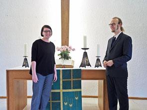 Sonja Schelb und Jan Hofheinz