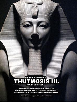 """Das Buch: """"Es ist soweit!"""" Thutmosis III."""