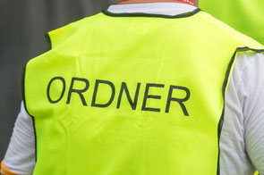 Ein Ordner im Einsatz / Symbolbild (Foto: deutzmann.net)