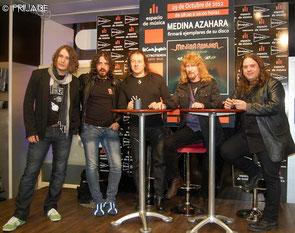 Firma de discos en El corte Inglés.