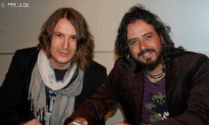 Nacho Santiago y Juanjo Cobacho.