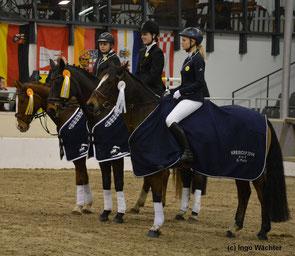 Die Sieger im Kreiscup der VCT 2014     Foto: Ingo Wächter