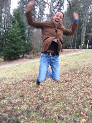 Maik Zosso springt