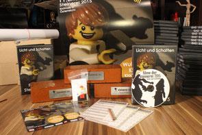 Steinerei Merchandise & die Trophäen