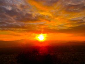 danach zeigte die Sonne erst  ihre unglaubliche Wirkung