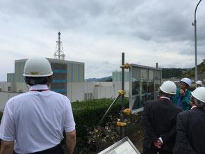 7月6日、松江市鹿島町の島根原発