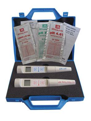 ◆ 自動校正・2段表示ディスプレイ・電極交換式・ホールド機能・温度測定機能、その他多機能品です!