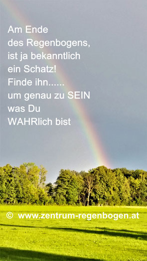 Der Regenbogen beim Zentrum Regenbogen
