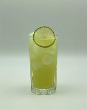 Mocktail, Mint-Basil Limeade, Limeade, Minze, Basilikum, Mocktail mit Minze, Mocktail mit Basilikum, Mocktail mit Limette, Mocktail mit Limettensaft
