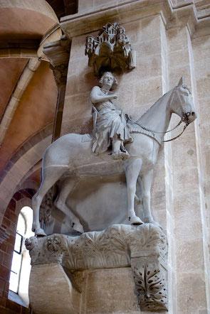 Der berühmte Bamberger Reiter