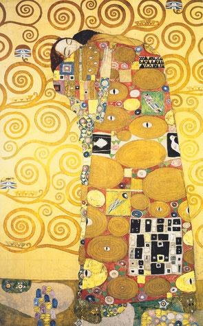 """Gustav Klimt, """"L'abbraccio"""" (1910-1911)"""