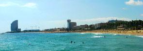 БАРСЕЛОНЕТА: ст. м. Цитадель или ст. м. Барселонета, дальше пешком к морю 7 минут
