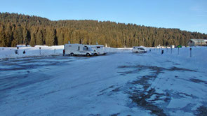 Area camper a Malga MIllegrobbe