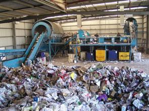 Recycling gibt es auch auf kleiner Ebene...