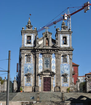 Porto Top 10 Tourist Attractions - Igreja de Santo Ildefonso