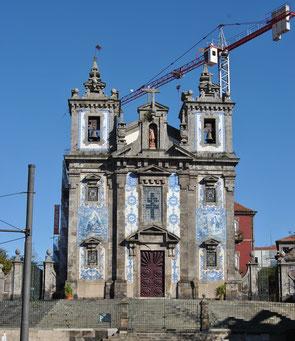 Porto Top 10 Tourist Attractions - Igreja de Santo Ildefonso