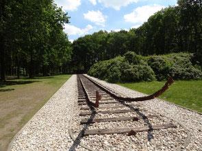 Von Westerbork fuhren die Züge in die Vernichtungslager im Osten. Bild: Ulrichs