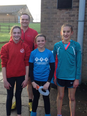 Front L-R: Briony Bishop, Natalie Ashley-Towell, Bethan Moor; Back: Russell Kirby